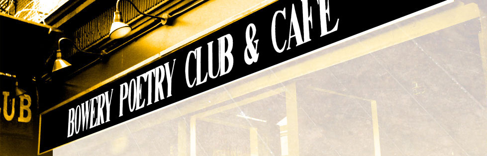 Bowery Poetry Club & Cafe